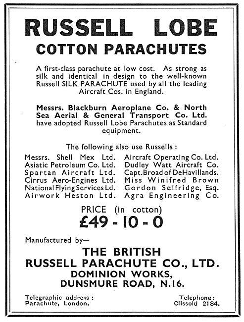 Russell Lobe Cotton Parachutes