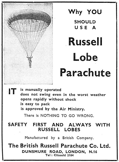 British Russell - Russell Lobe Parachute