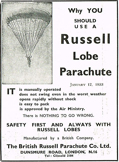 Why You Should Use A Russell Lobe Parachute