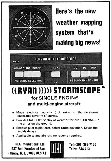 REA International Ryan Stormscope