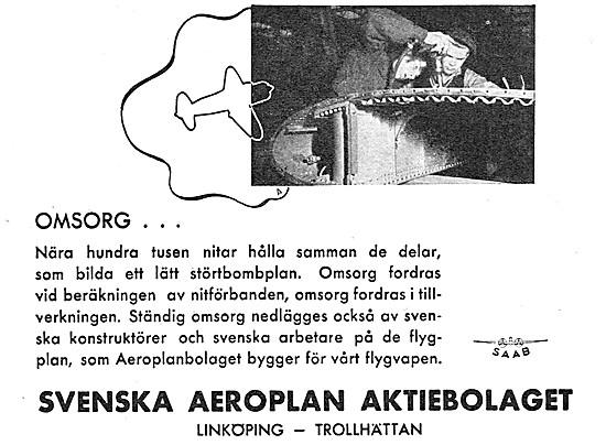 SAAB Aircraft 1942