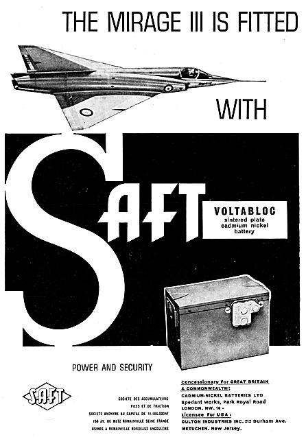 SAFT Accumulators