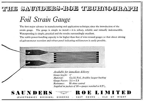 Saunders-Roe SARO Skeeter Technograph