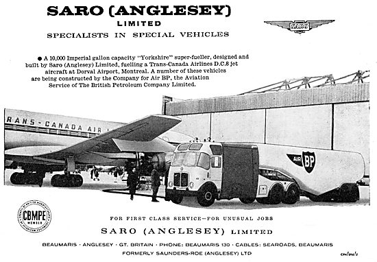 SARO Anglesey - Yorkshire Super Aircraft Fueller