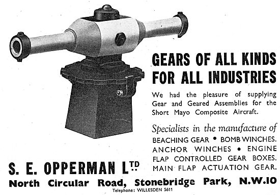 S.E.Opperman Gear & Component Manufacturers