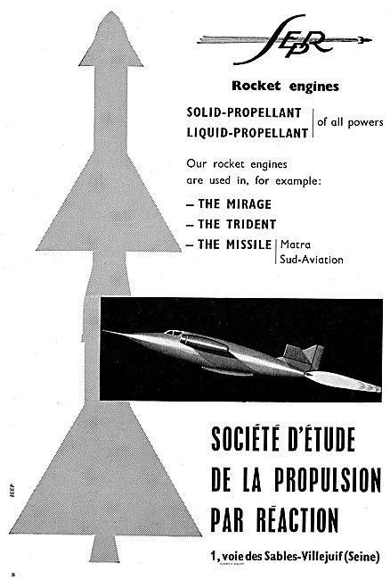 SEPR Mirage The Trident Matra Missile