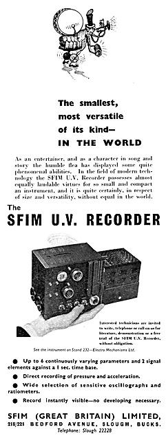 SFIM U.V.Recorder