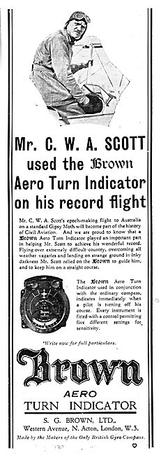 S.G.Brown Aero Turn Indicator