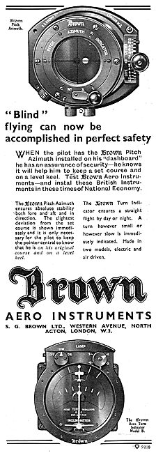S.G.Brown Pitch Azimuth Indicator