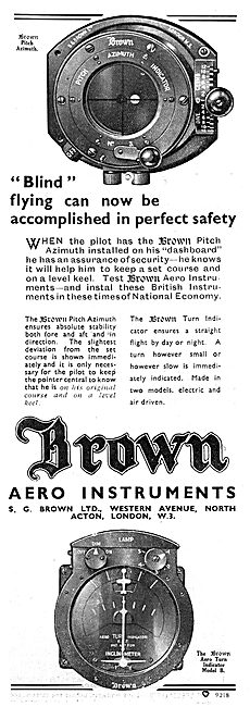 Brown S.G.Brown Pitch Azimuth Indicator