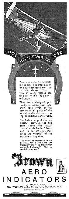 Brown Aero Turn Indicators