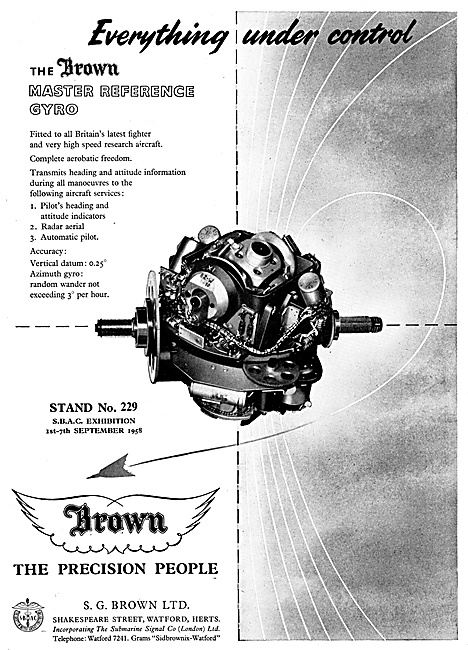 The S.G.Brown Master Reference Gyro