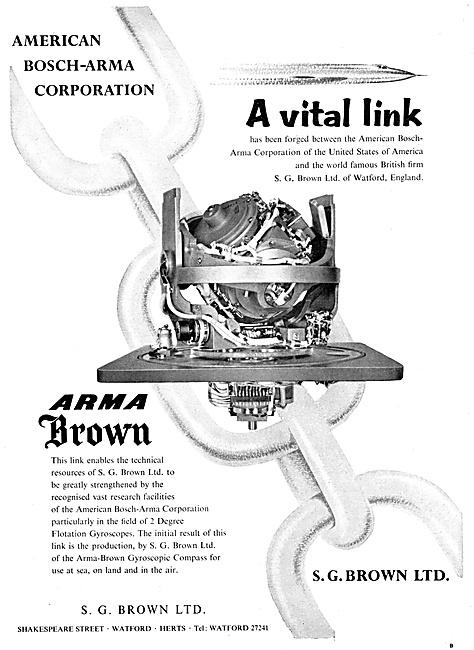 S.G.Brown Gyro Equipment