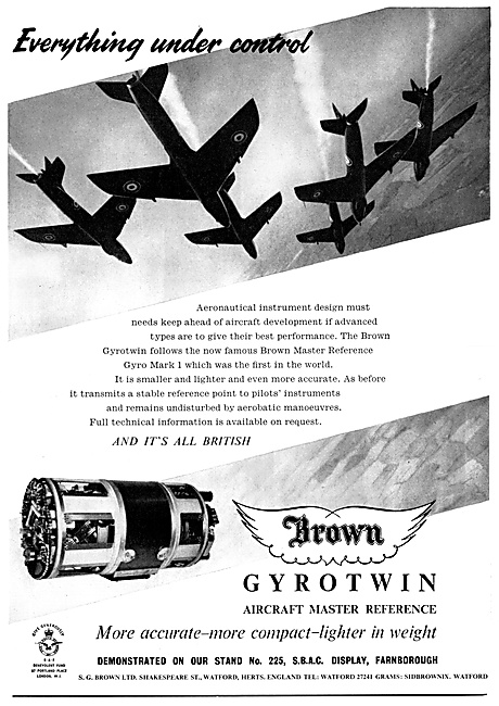 S.G.Brown Gyrotwin Aircraft Master Reference
