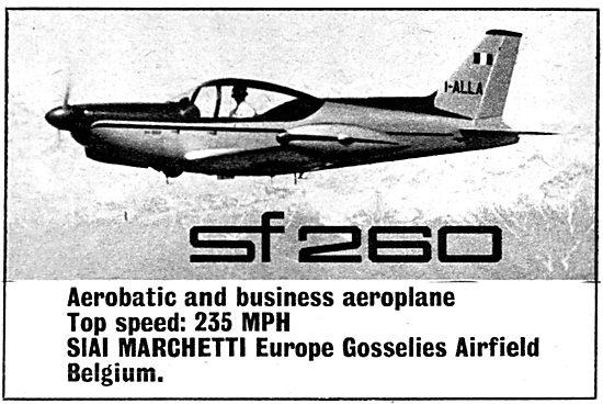 SIAI Marchetti SF 260