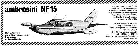 SIAI Marchetti - Ambrosini NF 15