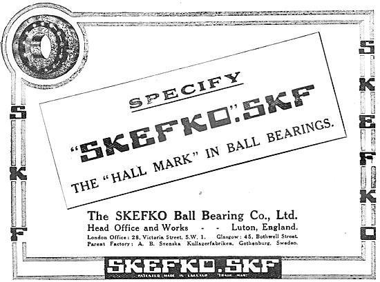 Skefco SKF Bearings