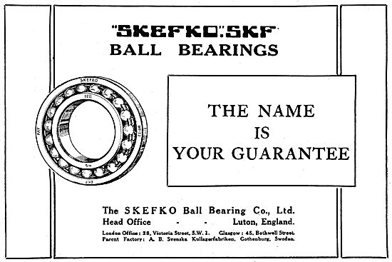 Skefco Ball Bearings For Aircraft