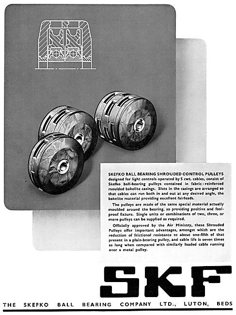 SKF Bearings & Pulleys