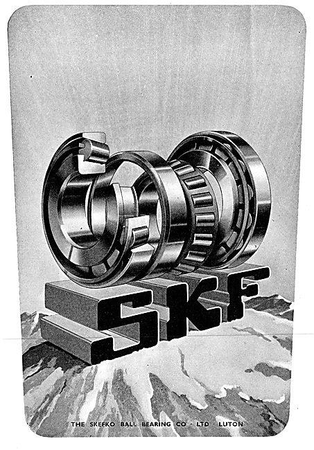 SKF Bearings 1942 Advert