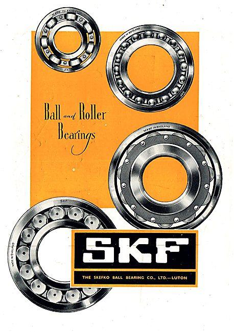 SKF Control Pulleys & Ball Bearings - Roller Bearings