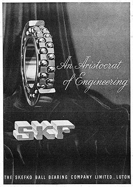 SKF Bearings 1943 Advert