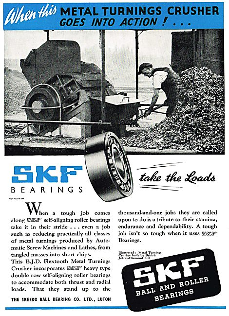 SKF Self Aligning Roller Bearings For Aircraft