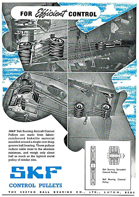 SKF Control Pulleys & Ball Bearings