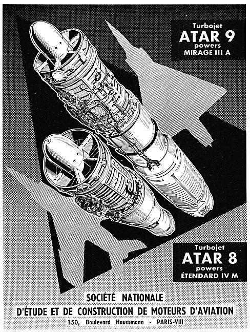 SNECMA  ATAR 9 - SNECMA ATAR 8