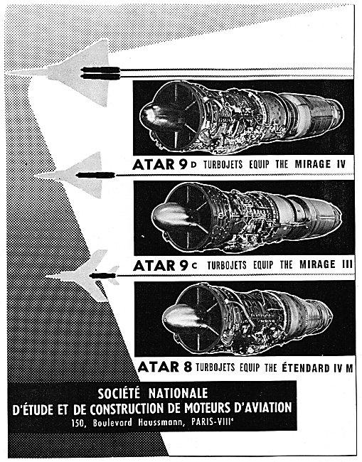SNECMA  ATAR Aero Engines