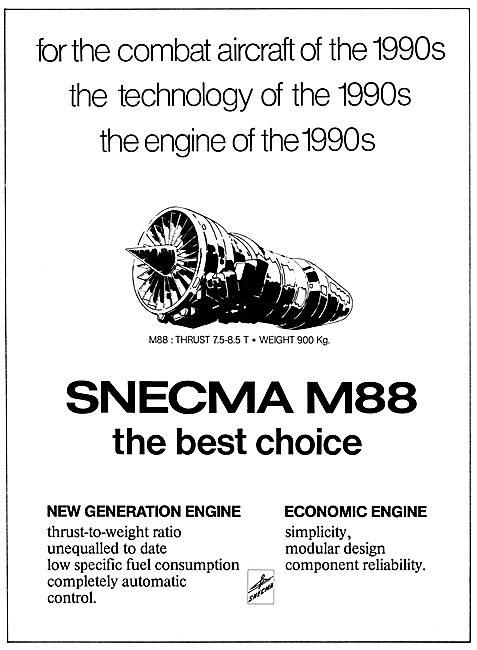 SNECMA  M88