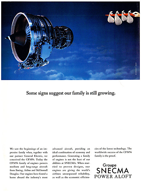 SNECMA  CFM56  Aero Engine