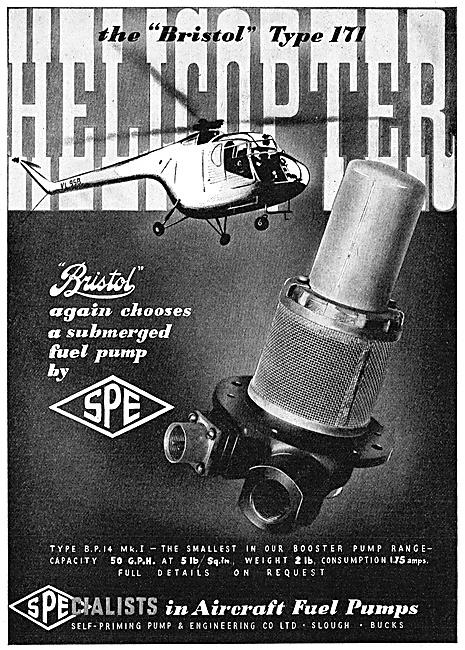 SPE Aircraft Fuel Booster Pumps