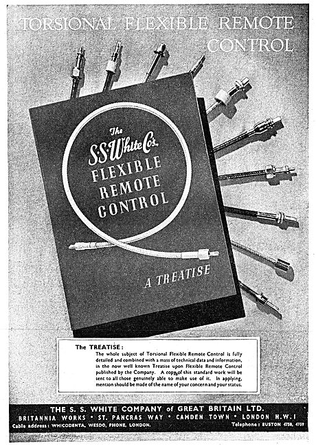S.S.White  Flexible Remote Control 1942