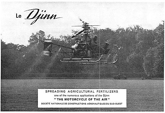 Sud Aviation Djinn Helicopter