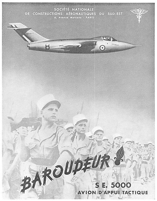 Sud Aviation Baroudeur SE 5000