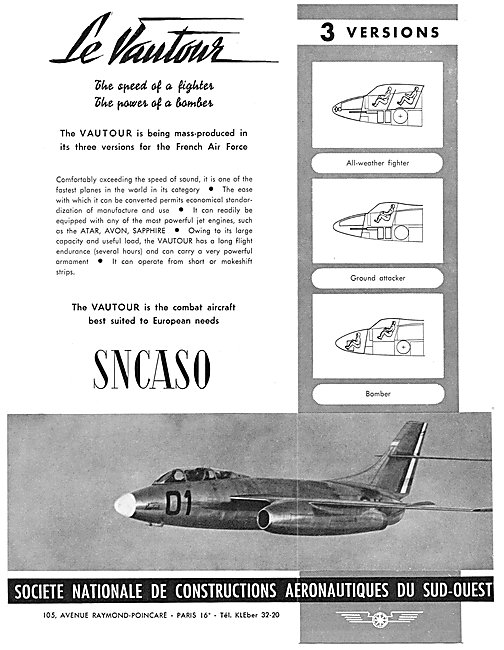 SNCASO Sud Aviation Vautour
