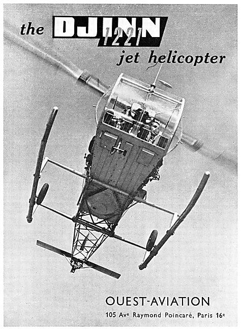 Ouest-Aviation DJINN 1221 Helicopter