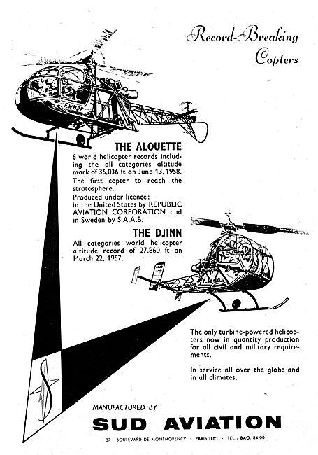 Sud Aviation Alouette - Sud Aviation Djinn