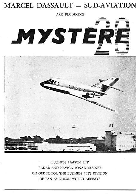 Marcel Dassault Sud Aviation Mystere 20