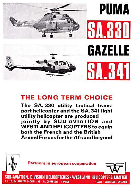 Sud-Aviation Westland SA.330 Puma
