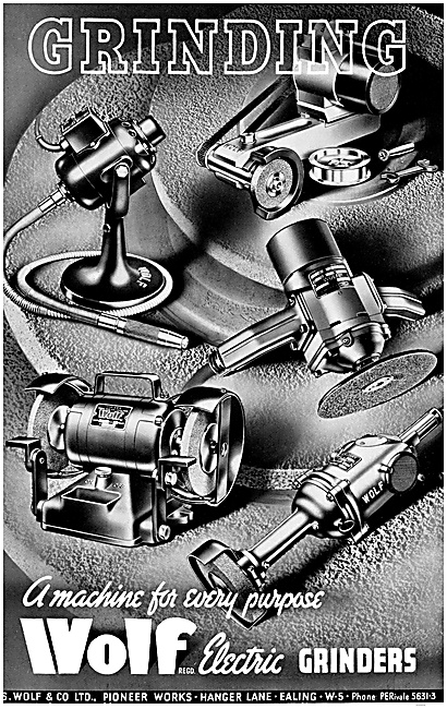 Wolf Electric Grinders