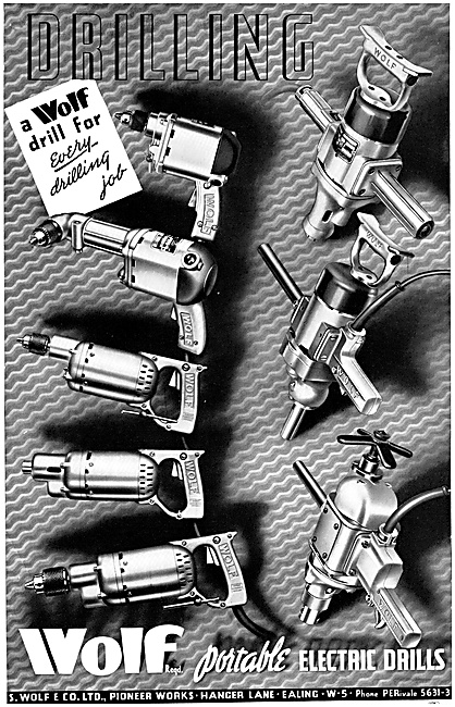 Wolf Electric Drills