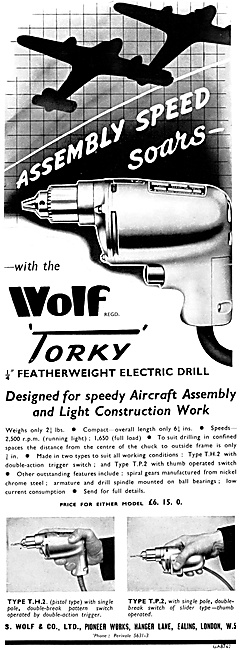 Wolf Electric Power Tools - Wolf Torky Drill