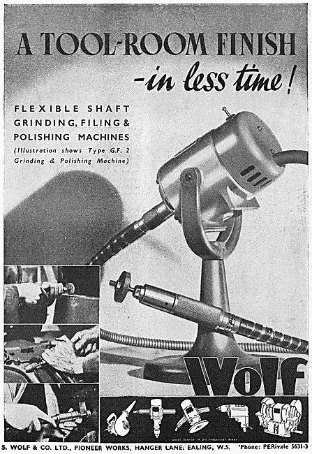 Wolf Flexible Shaft GF2 Grinding & Polishing Machine