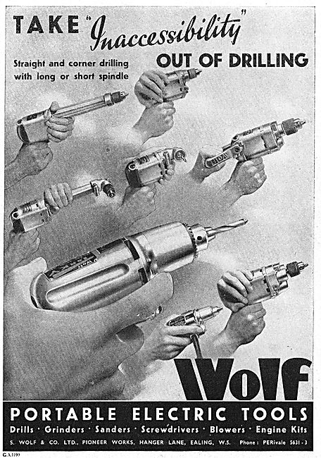 Wolf Portable Electric Tools