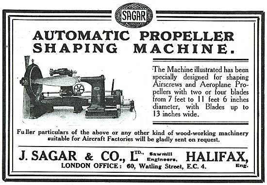 Sagar Automatic Propeller Shaping Machine