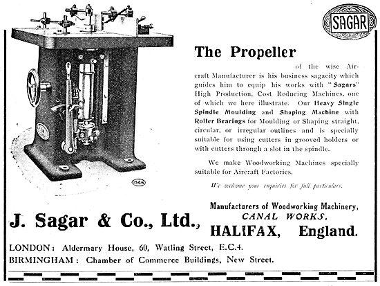 Sagar Woodworking Machinery 1920 Propeller Shaper