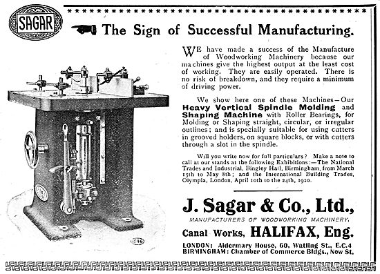 Sagar Woodworking Machinery - Spindle Molding Machine