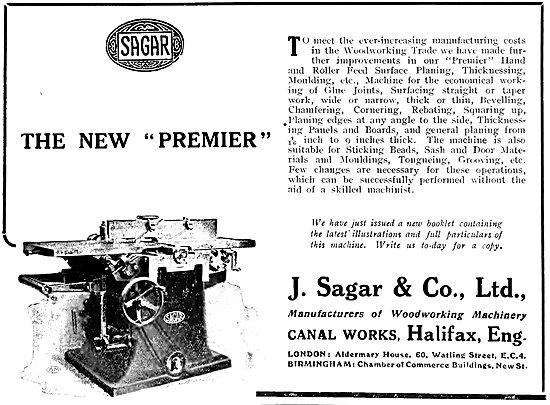 Sagar Woodworking Machinery - Sagar New Premier
